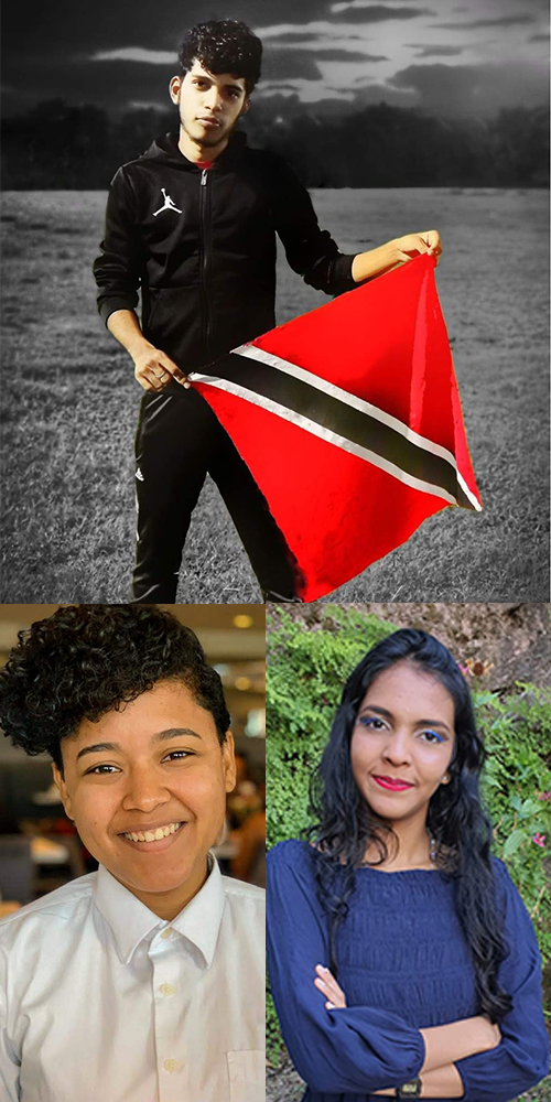"""Top – Kaveer Phillips 1st place; Bottom left – Danielle Pacheco 2nd place; Bottom right – Mikella Hosien 3rd place."""" data-image=""""uo0xqfgqfwpy"""">Top – Kaveer Phillips 1st place; Bottom left – Danielle Pacheco 2nd place; Bottom right – Mikella Hosien 3rd place."""