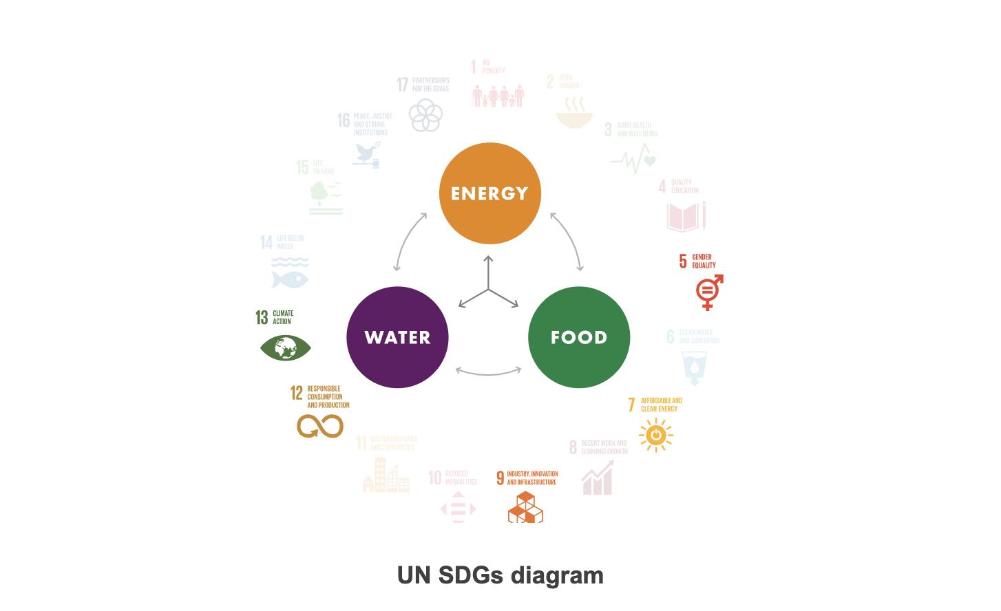 UN SDG diagram Australia