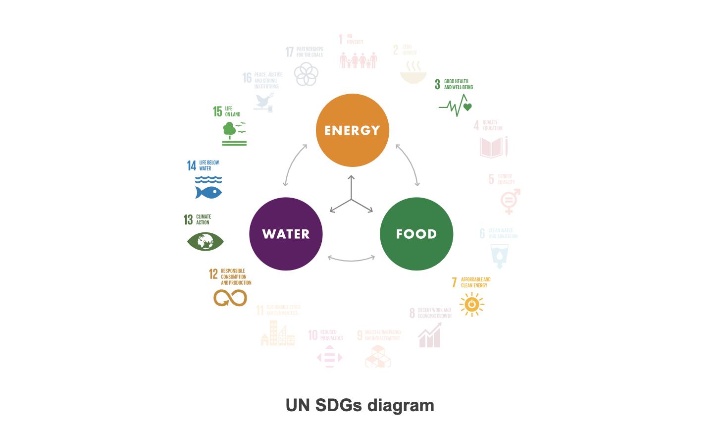 UN SDG Diagram Brazil