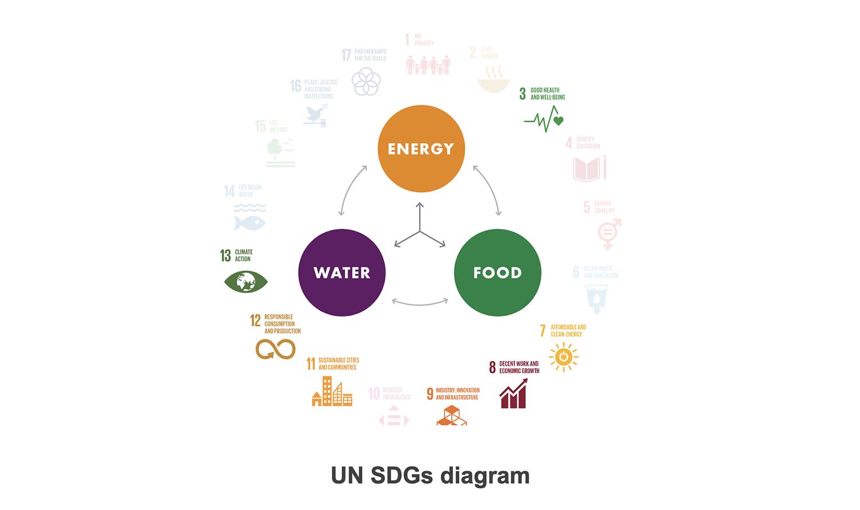 UN SDG diagram India